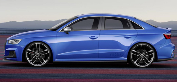 Audi представила 525-сильную A3