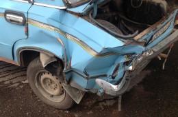 Opel Astra врезался в ВАЗ 2101 на ул. Б. Советская.