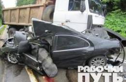 В ДТП недалеко от поселка Гедеоновка в Смоленске погибли три человека