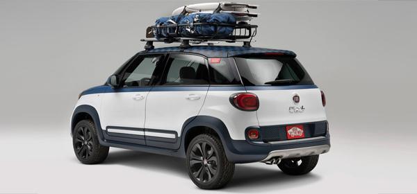 Компания Fiat разработала автомобиль для серферов