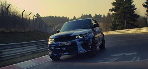 Range Rover Sport стал самым быстрым внедорожником на Нюрбургринге
