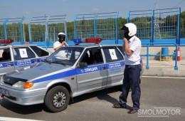Cреди инспекторов ГИБДД прошел автомобильный полиатлон