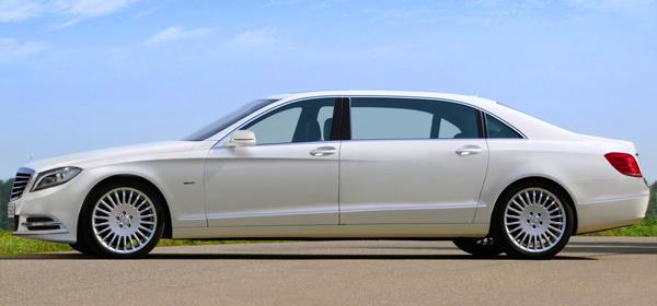 Новый Mercedes S-Class Pullman будет построен в ателье Brabus
