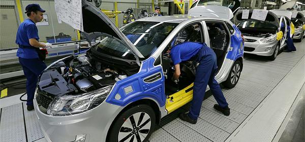 Завод Hyundai в Петербурге приостанавливает сборку автомобилей