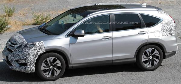 Honda тестирует обновленный кроссовер CR-V