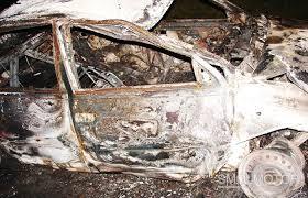 В Смоленской области сгорели несколько автомобилей