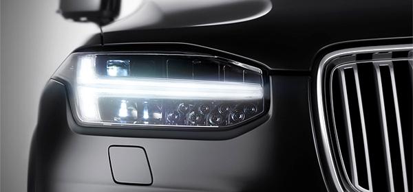 Volvo показала первый тизер кроссовера XC90
