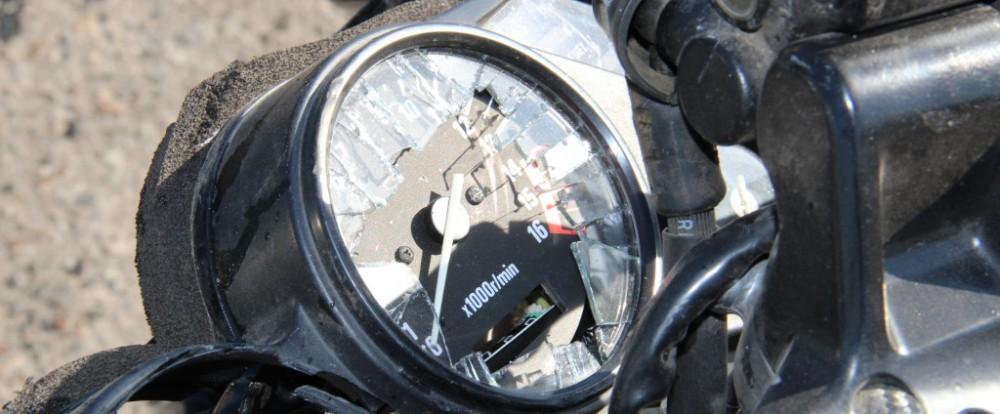 В Смоленской области в аварии погиб мотоциклист.