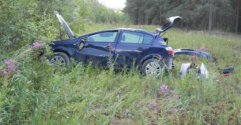 Молодая семья пострадала в ДТП под Смоленском.