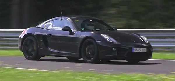 Porsche тестирует четырехцилиндровые моторы
