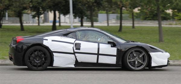 Ferrari начала тесты модели 458 M