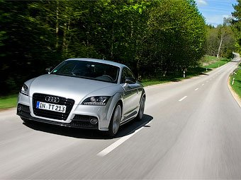 Названы российские цены на новое купе Audi TT