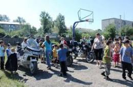 Школьникам напомнили о правилах дорожного движения.