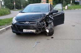 В Смоленской области иномарка столкнулась с мотоциклом