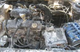 В Смоленске сгорело очередное авто.