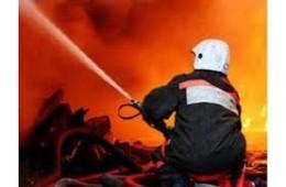 В Вяземском районе сгорела Газель.