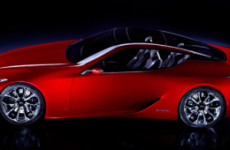 Lexus разработает конкурента Porsche 911