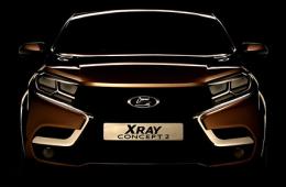 Lada XRAY начнут собирать в начале следующего года