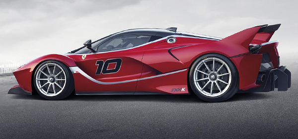 Ferrari представила самый мощный спорткар