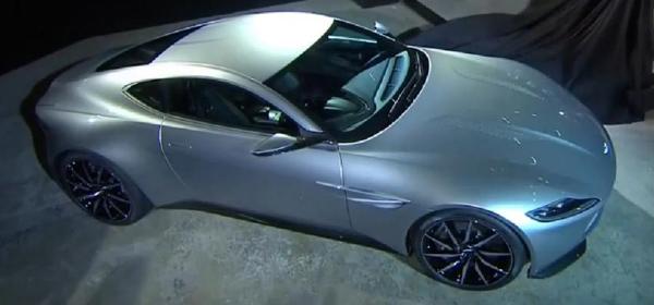 Aston Martin показал новый автомобиль Джеймса Бонда