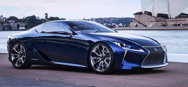 Lexus придумал новое название для флагманского спорткара