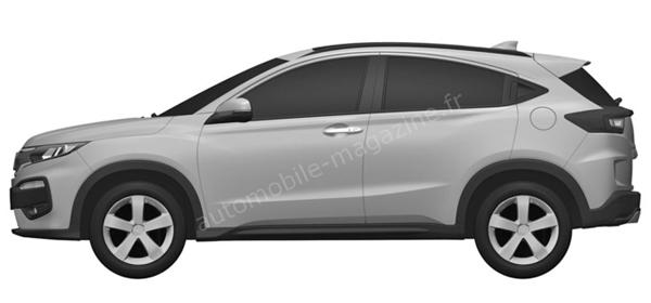 Honda представит новый кроссовер в 2015 году
