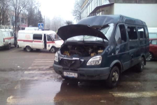 В Смоленске маршрутка попала в аварию