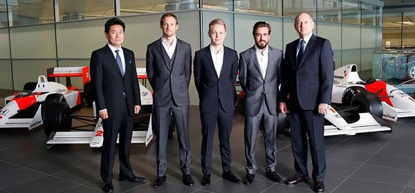 Команда Формулы-1 McLaren выбрала пилотов
