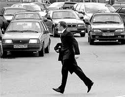 Смоляне-пешеходы злостно нарушают ПДД.