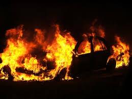 В Смоленской области произошло возгорание иномарки.