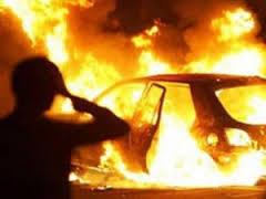 В Смоленске поймали поджигателей автомобилей.