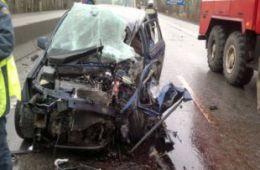 Женщина-водитель погибла в ДТП в Смоленской области