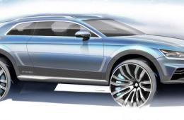 Премьера нового кроссовера Audi Q1 состоится в 2016 году