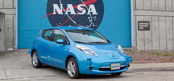 Nissan разработает систему автономного управления совместно с NASA