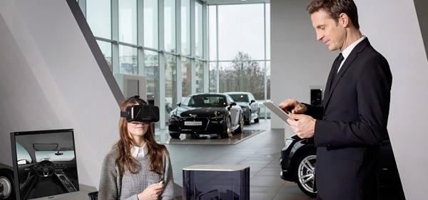 Audi использует виртуальные очки для продажи автомобилей