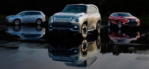 Mitsubishi представит в России две новые модели в 2015 году