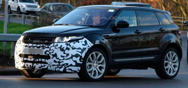 Обновленный Range Rover Evoque представят в 2015 году