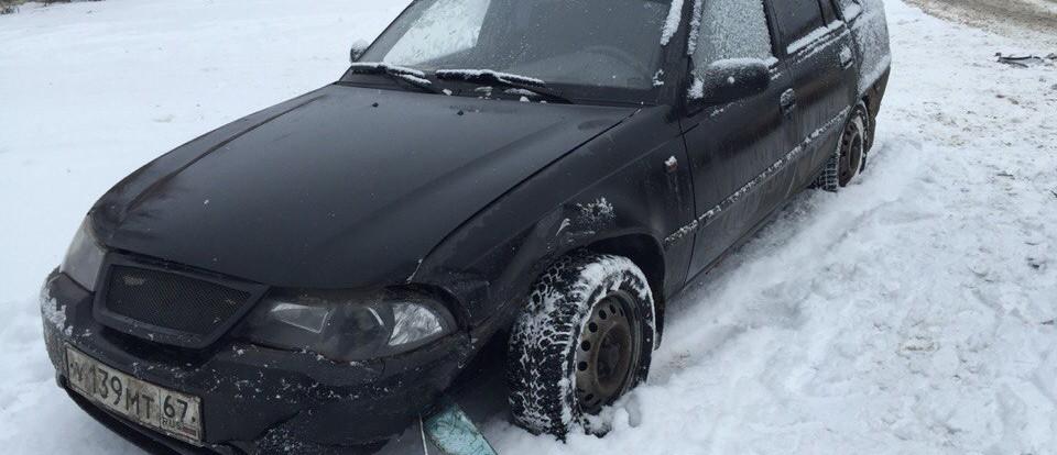 Из-за халатности водителя в Смоленске произошло ДТП