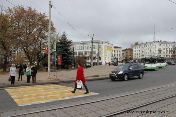 В Смоленске устроят охоту на пешеходов-нарушителей