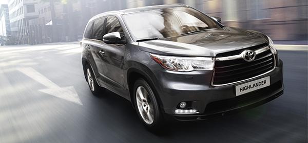 Toyota отзывает внедорожники Highlander в России