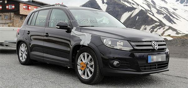 Volkswagen представит новый Tiguan в сентябре 2015 года