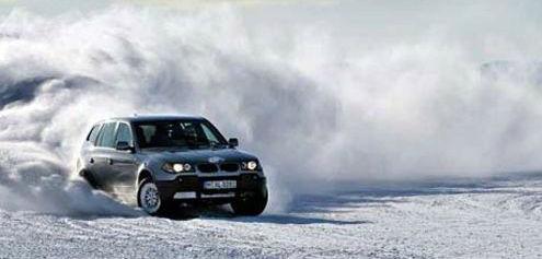 Вождение автомобиля в зимнее время