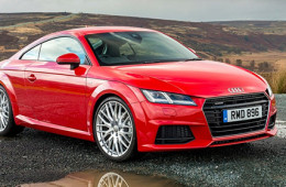 Новая Audi TT набрала 4 звезды по результатам краш-теста
