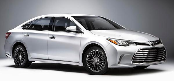 Toyota обновила седан Avalon
