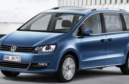 Volkswagen обновил минивэн Sharan