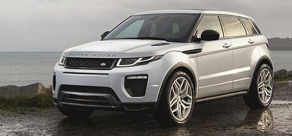 Обновленный Range Rover Evoque получил новый двигатель
