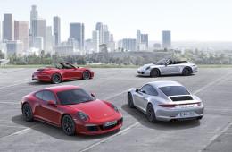 Porsche назвала российские цены на новый 911 Carrera GTS