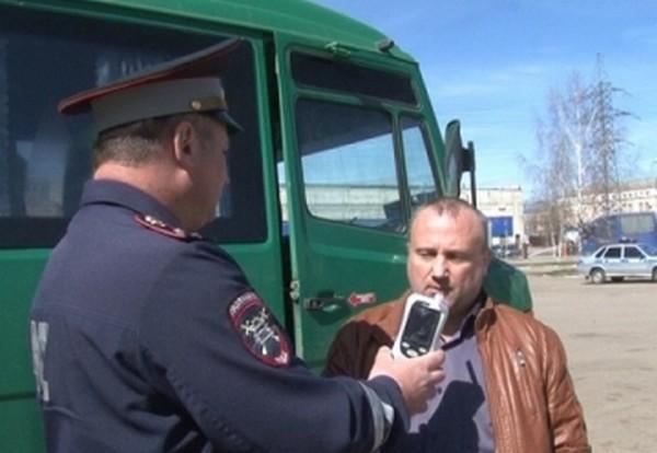 В Смоленске пьяный водитель автобуса вез людей