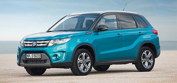 Российские продажи Suzuki Vitara начнутся в августе 2015 года