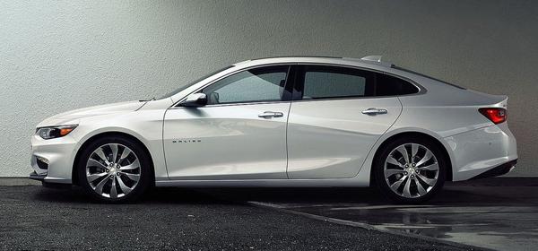 Chevrolet Malibu стал гибридом